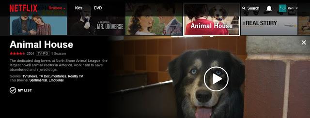 Netflix animal house