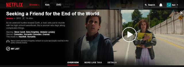 Netflix seeking a friend