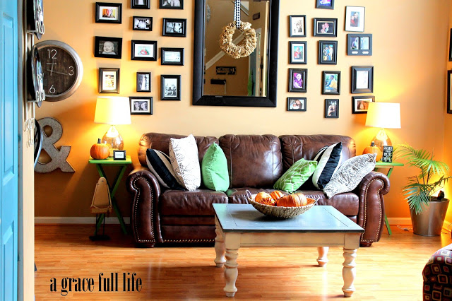 Funky family room