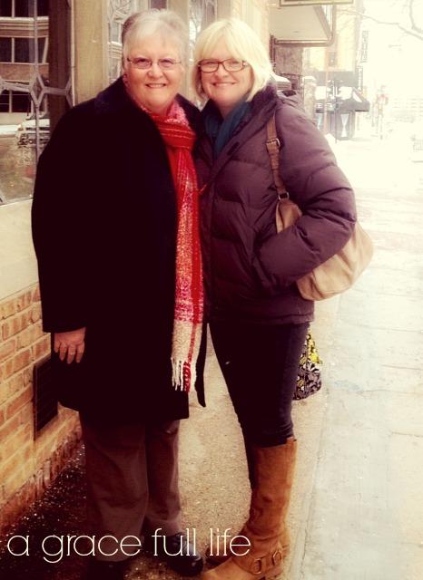 Milwaukee with my mom
