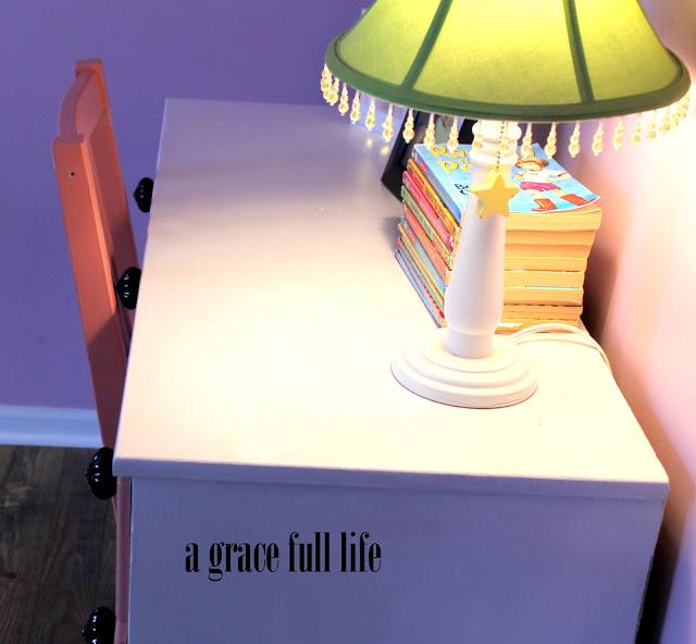 little girl's desk