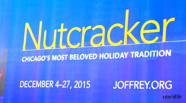 Joffrey Ballet Nutcracker Sign