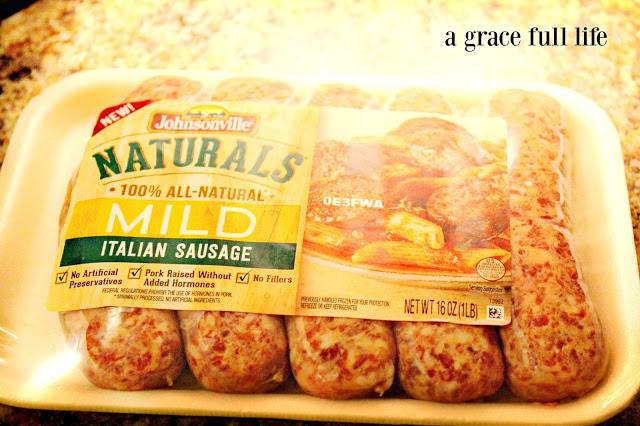 Johnsonville Naturals sausage