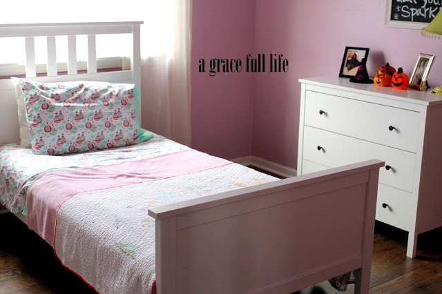 little girl's IKEA room