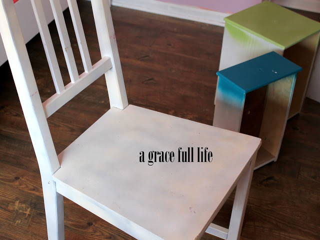 little girl's desk chair