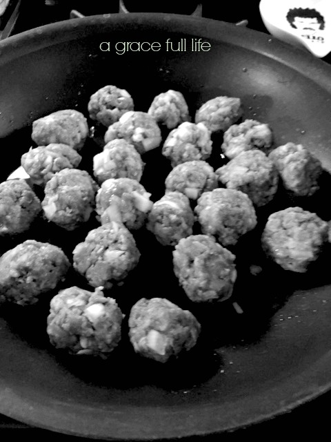 My dad's famous Christmas Eve meatballs