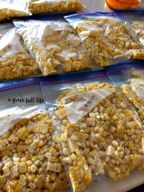 bags of corn