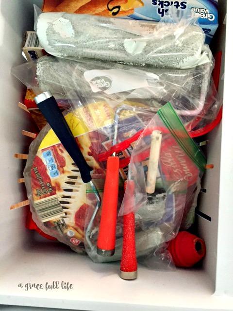 freezer paint brushes