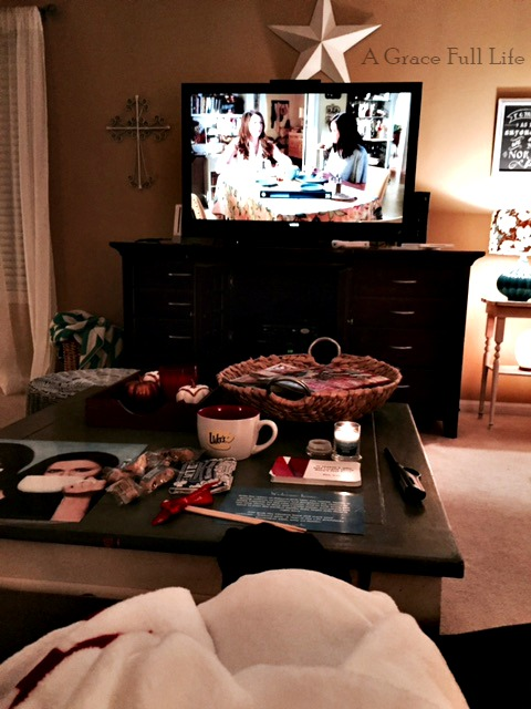 Netflix Gilmore Girls Date Night In #StreamTeam