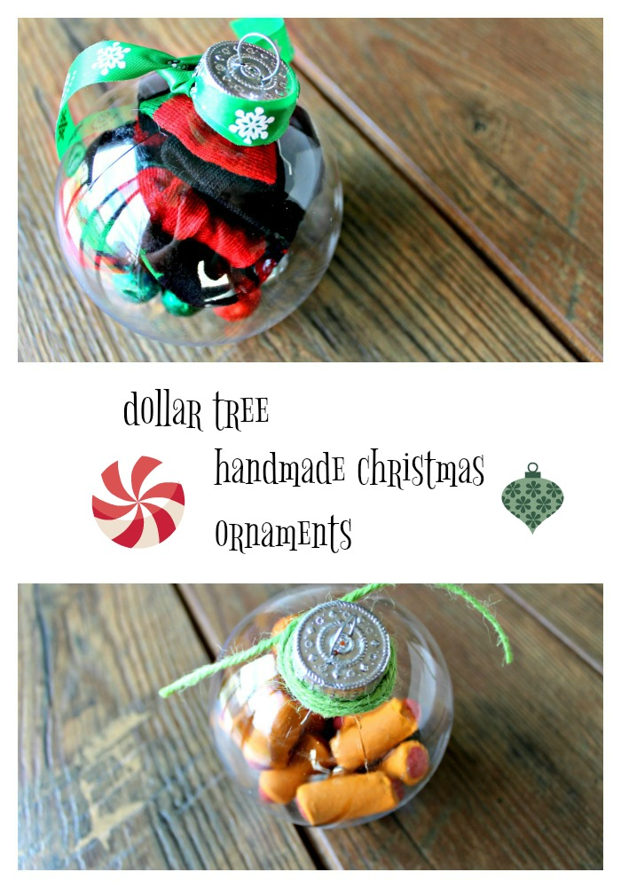 Dollar Tree Christmas Ornaments