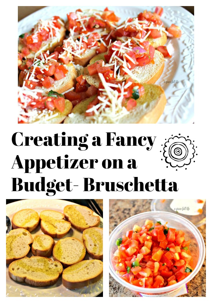 Bruschetta, appetizer