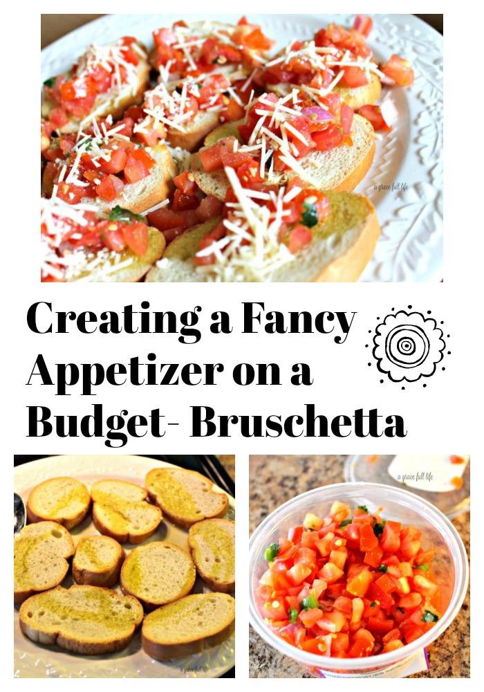 Bruschetta, appetizer