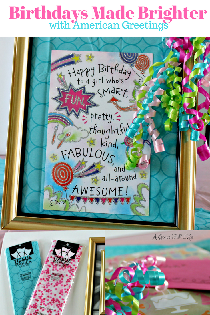 Shop Birthdays American Greetings Craft Fun Gift Meijer