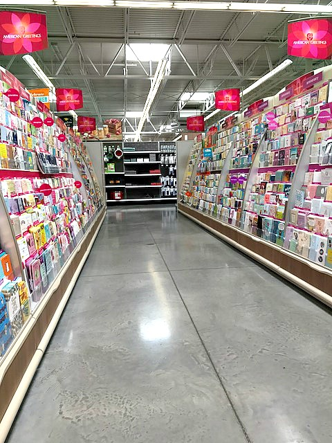 #shop, birthday, card aisle, Meijer