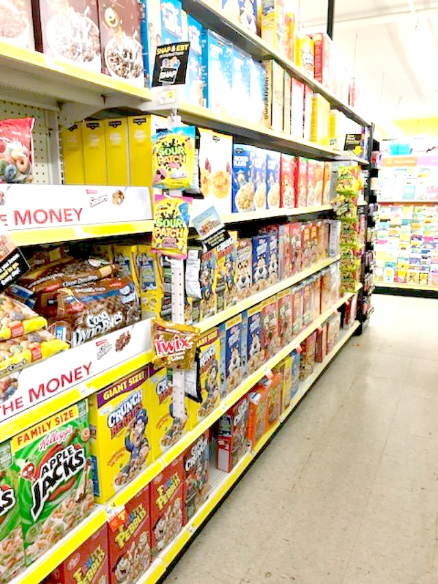 Dollar General, ad, shop, cereal