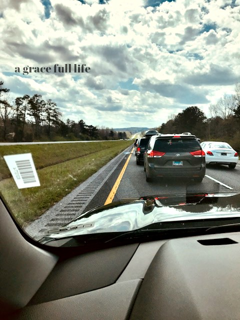 Don't Drive to Florida-Traffic in Alabama