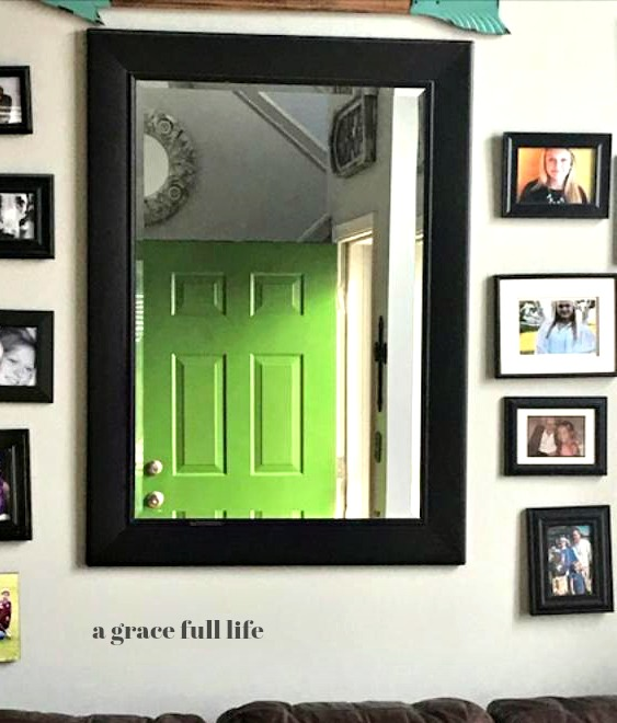 green door mirror