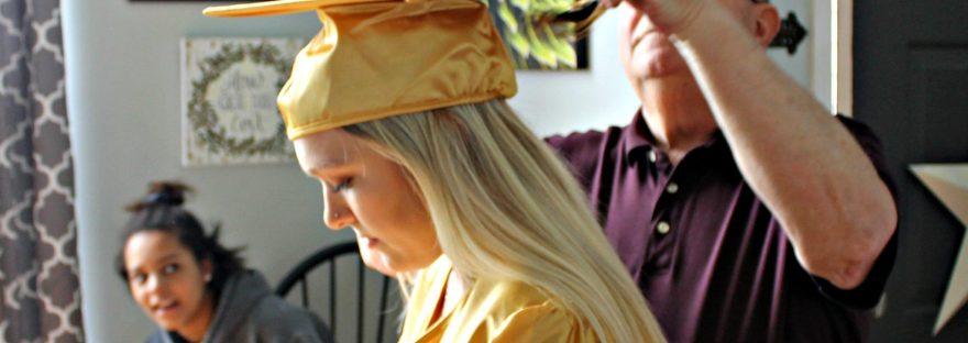 graduation, graduation day, shes done, high school