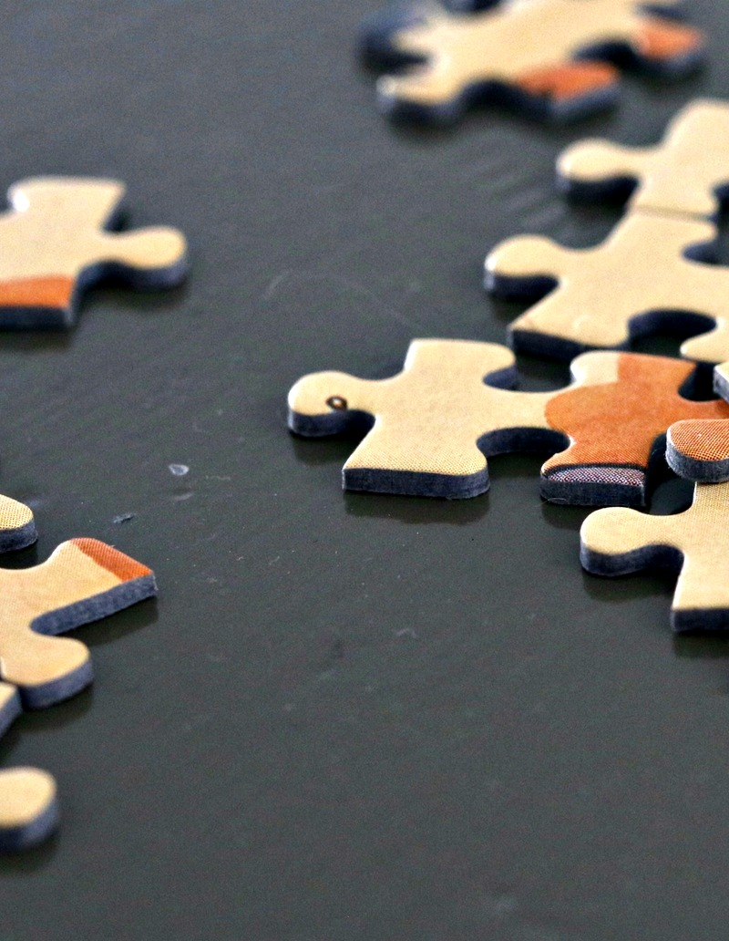 therapy, puzzle pieces. anxiety