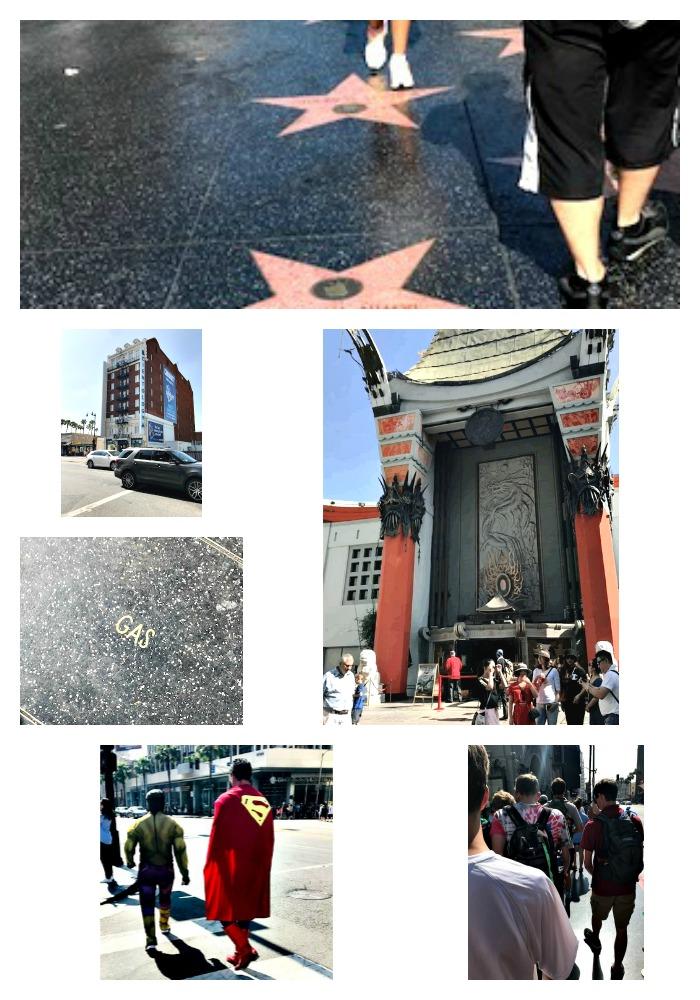 california, walk of fame, hollywood, travel
