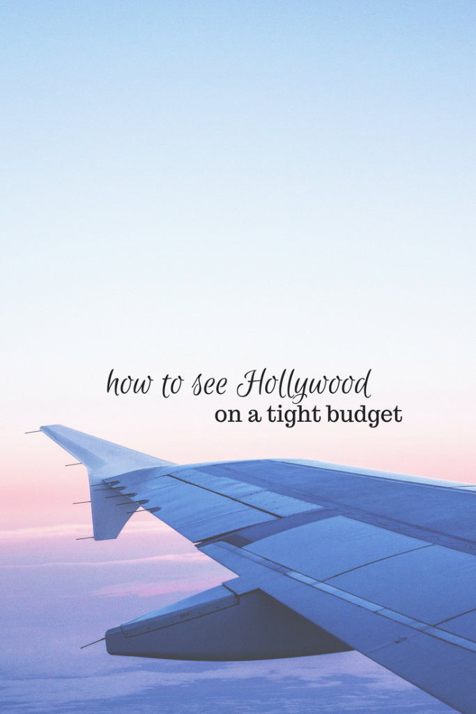 hollywood, california, travel, budget