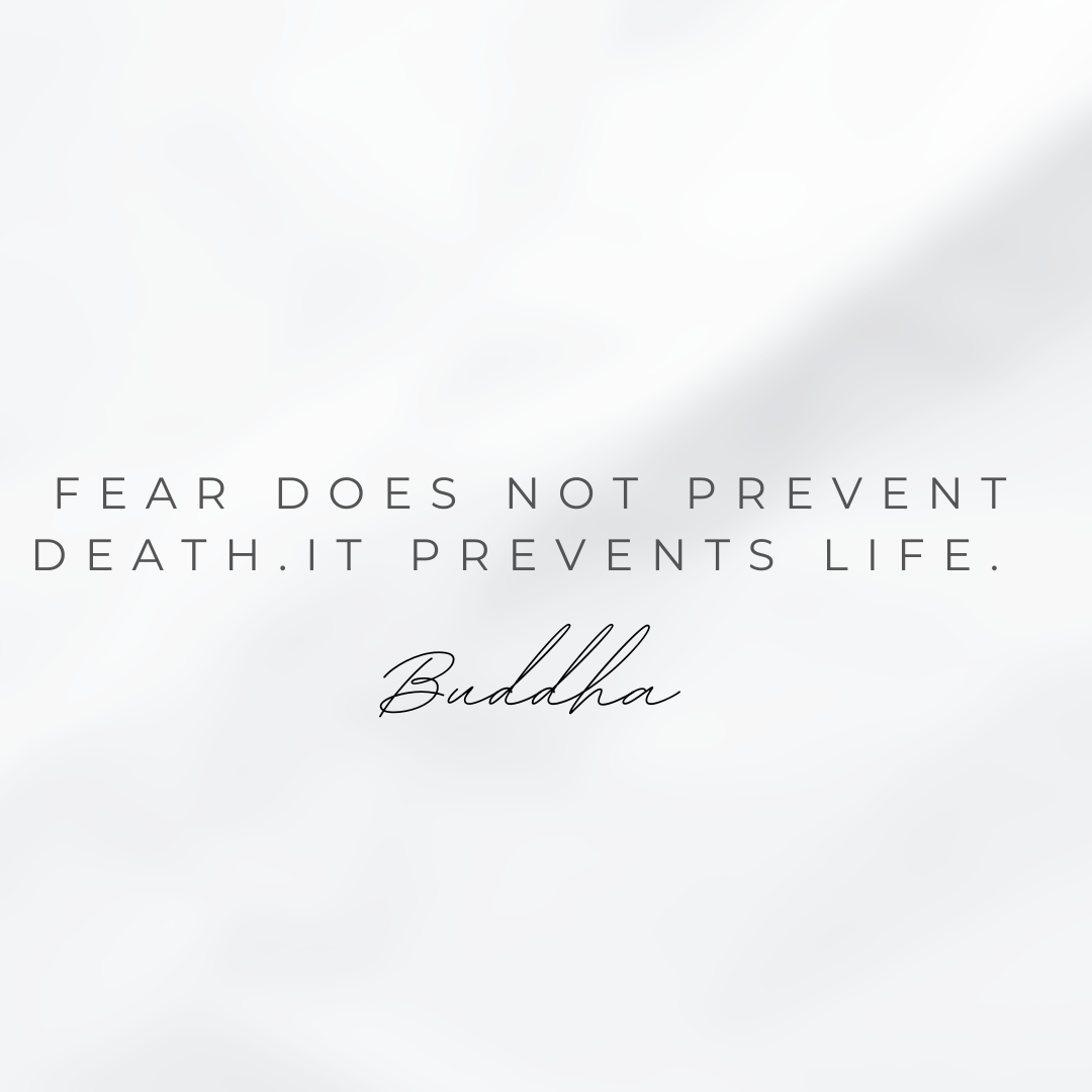 fear does not prevent death.